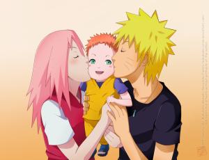 narusaku_family_by_sabakunocurse-d5t49tf